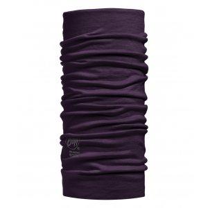 Buff Merino Wool Solid Plum