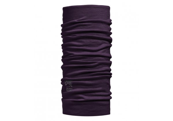 Buff Merino Wool Solid Plum