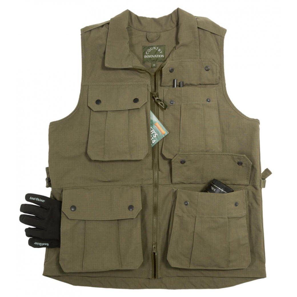 Photography Vest • Raptor Multi Pocketed Waistcoat ...
