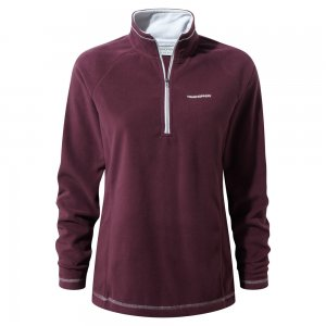 Craghoppers Seline Half Zip Winterberry