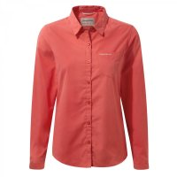 Craghoppers Ladies Kiwi Shirt Watermelon