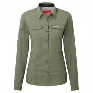 Craghoppers NosiLife Adventure Womens Shirt Soft Moss