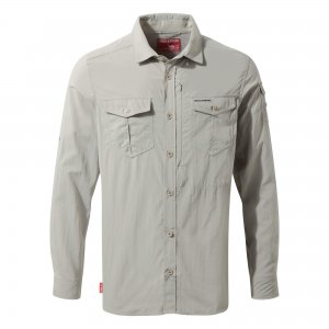 Craghoppers NosiLife Adventure Long Sleeve Shirt Parchment