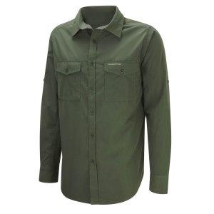 Craghoppers Kiwi Long Sleeve Shirt Cedar
