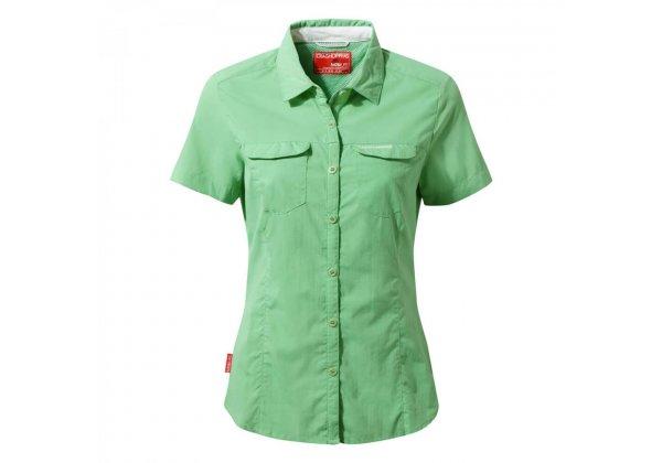 Craghoppers NosiLife Adventure Womens Shirt Short Sleeve Apple Tang