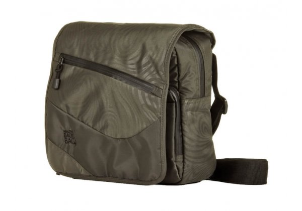 Healthy Back Bag Great Outdoors Messenger Caviar