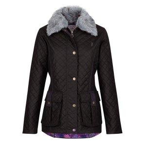 Jack Murphy Charlize Wax Quilted Jacket