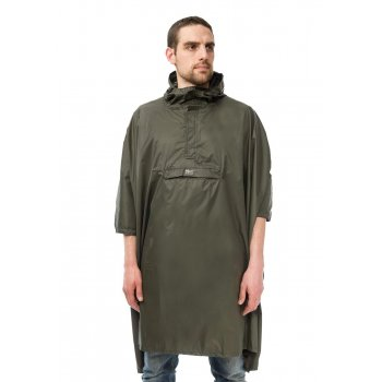 Mac in a Sac Unisex Poncho Khaki