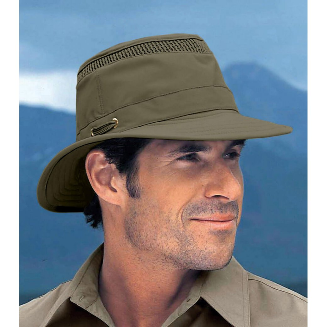 LTM5 Airflo Tilley Hat - Olive • Medium Brim • Country Innovation c537b45591b